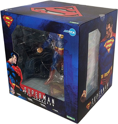 Mens El Costume Jor (Kotobukiya DC Comics Superman for Tomorrow ArtFX)