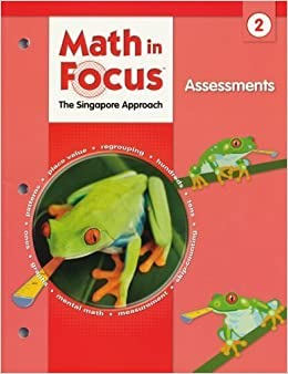 Book Math in Focus, Grade 2 Assessments (Singapore Math) 1st (first) Edition by GREAT SOURCE published by GREAT SOURCE (2009)