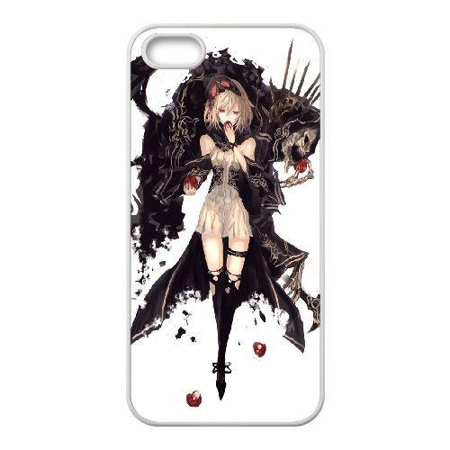 Necromancer 3 coque iPhone 4 4S Housse Blanc téléphone portable couverture de cas coque EOKXLKNBC21072