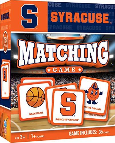 - MasterPieces NCAA Syracuse University Orange Matching Game