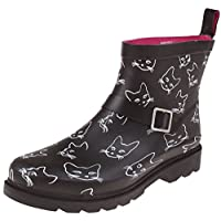 Capelli New York Ladies Short, Sporty, Lined Rainboots
