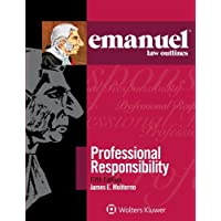 Image for Professional Responsibility (Emanuel Law Outlines)