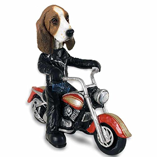 Basset Hound Motorcycle Doogie Collectable (Basset Figurine)