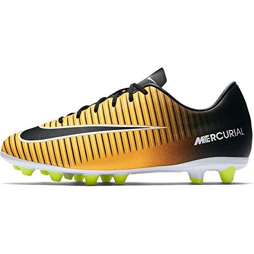 Nike JR MERCURIAL VICTORY VI AG-PRO - Zapatillas de fútbol sala, Unisex infantil, Naranja - (Laser Orange/Black-White-Volt)