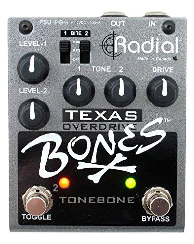 - Radial Bones Texas Dual Overdrive Pedal