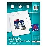Avery Classic Presentation Book, White, 1 Book (47671)