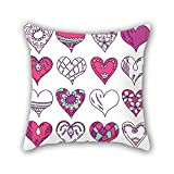 Tenis Nike Best Deals - PILLO love cushion covers 16 x 16 inches / 40 by 40 cm gift or decor for drawing room,boys,play room,father,club,couch - each side