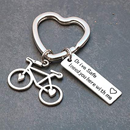 Amazon.com: MAGA 1 Stainless Steel Key Chain Drive Safe I ...