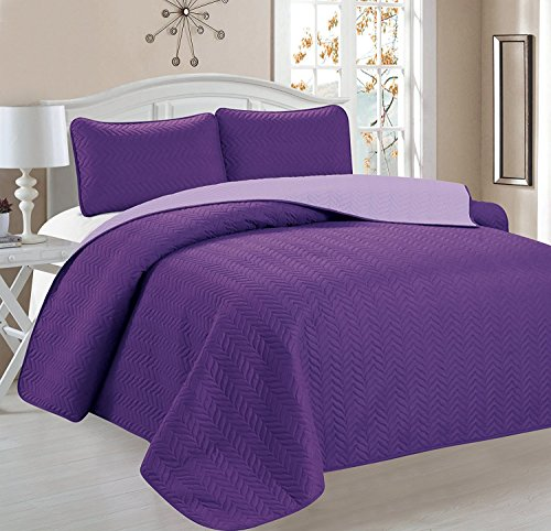 quilts king size purple - 4