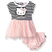 Hello Kitty Baby Girls' Dress Set, Multi/Pink, 12 Months