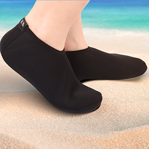 Neoprene Men Black Snorkeling Swimming Shoes All Water Water Water for Women Socks Heeta Sports Diving for f4dnqf