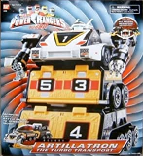 Power Rangers Turbo Artillatron Transport Deluxe Figure