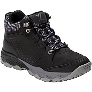 Vionic Women's Everett Mid Top Hiking Shoes Black 10 M