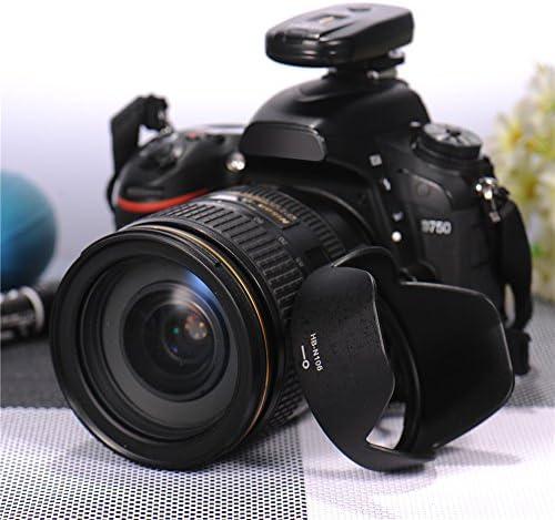 Parasol HB-N106 para lente Nikon AF-P DX 18-55 mm f/3.5-5.6G VR ...