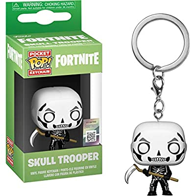 Funko 36952 Pop! Keychain: FortniteSkull Trooper, Multicolor: Toys & Games