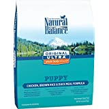 Natural Balance Puppy Formula Dry Dog Food, Original Ultra Whole Body Health, Chicken, Brown Rice & Duck Meal Formula, 14-Pound