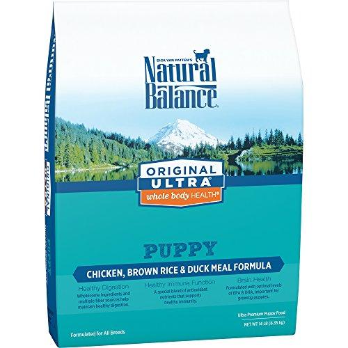 Natural Balance Puppy Formula Dry Dog Food, Original Ultra W