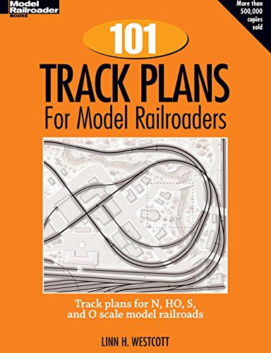 - One Hundred and One Track Plans for Model Railroaders (Model Railroad Handbook, No. 3)