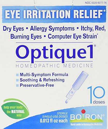 Boiron Optique 1 Eye Drops, 10 Count - Homeopathics Optique 1 Eye Drops