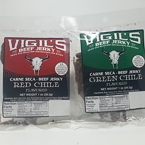 Vigil's Red and Green Chile Jerky