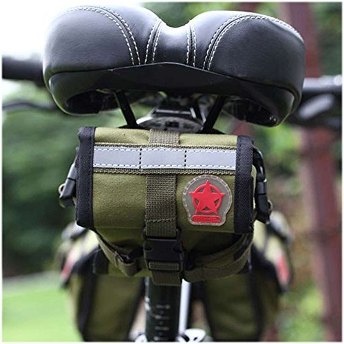 f1e1dc3bf6c COTEetCI Bicycle Frame Front Tube Beam Bag Transparent PVC Cycling Pannier  Pouch Basket for 5.7 inch