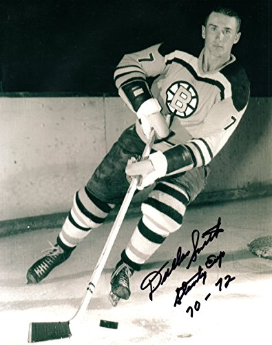 Dallas Smith Autographed 8x10 Boston Bruins Photo NHL W/ Stanley Cup 70-72 Insc