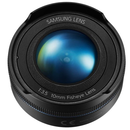 Samsung NX 10mm Fish Eye Camera Lens (Black) by Samsung (Image #5)
