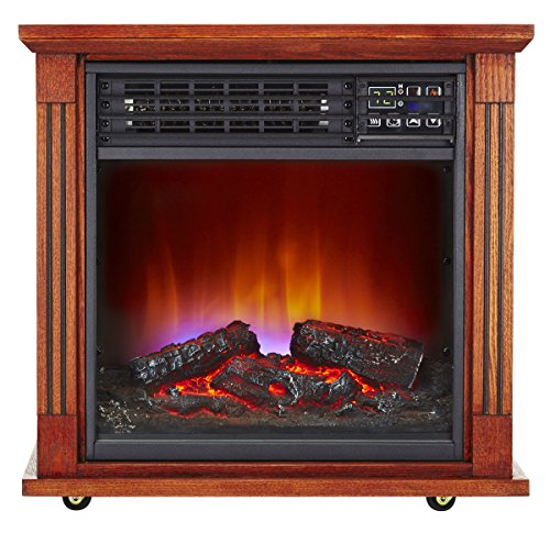 Haier 5,100 Btu Infrared Electric Fireplace Heater Haier Infrared Heaters