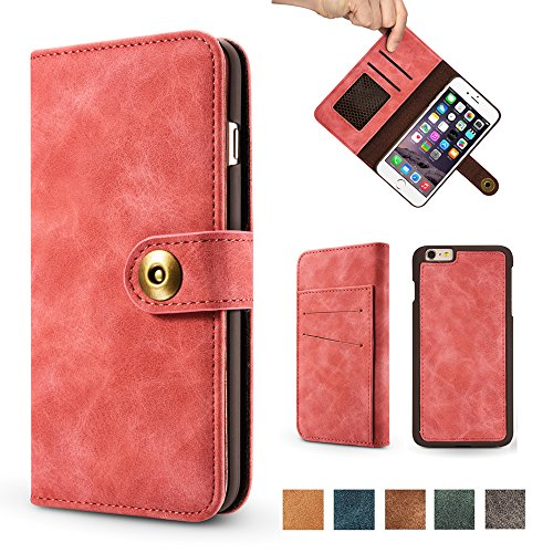 iphone 4 case wallet red - 8