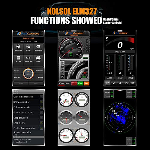 KOLSOL WiFi Car OBD2 Scan Tool ELM327 Code Reader Pro Diagnostic Tool for iPhone iPad & Android with Switch