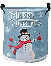 Laundry Hamper, Summer Farm Lemon Blue Morocco Floral Print Collapsible Clothes Hamper with Handles Water Repellent Freestanding Storage Basket for Clothes Toys