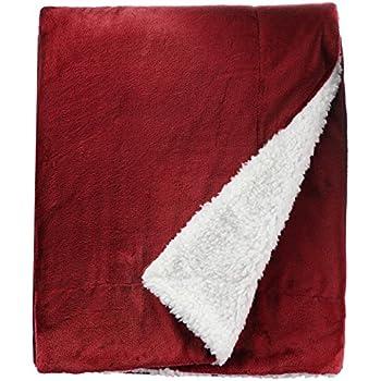 Amazon Com Northpoint Cashmere Plush Velvet Throw