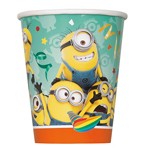 9oz Despicable Minions Party Cups