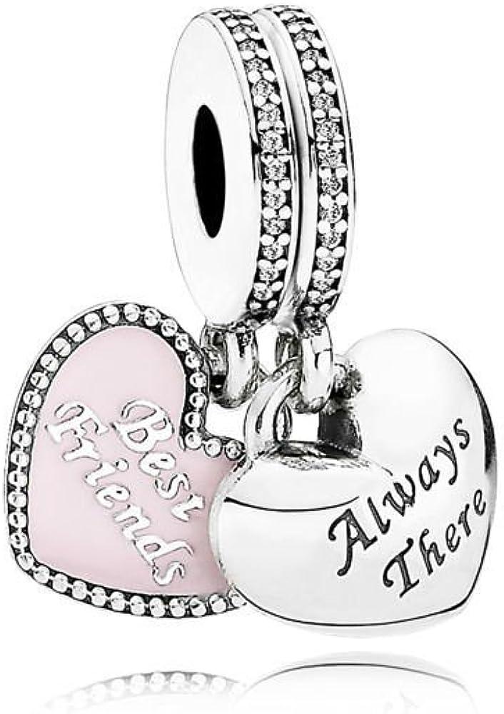 Pandora Charm Con Pendente Migliori Amiche Amazon Co Uk Jewellery