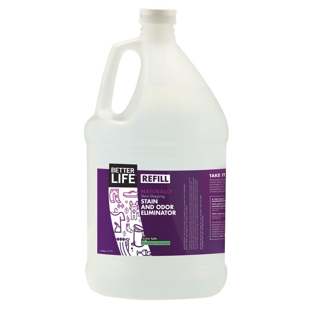 Better Life Stain & Odor Eliminator, Eucalyptus & Lemongrass