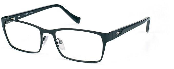 4e7c34adb10 Police - Monture de lunettes - Femme Noir Noir M  Amazon.fr ...