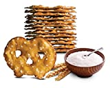 Snack Factory Pretzel Crisps Original Flavor, Snack Packs Individual Sized 1 Ounce, 10 Count