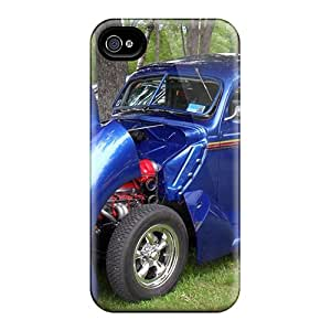 Defender Case For Iphone 4/4s, Fat Fendered 1940's Hot Rod Pattern