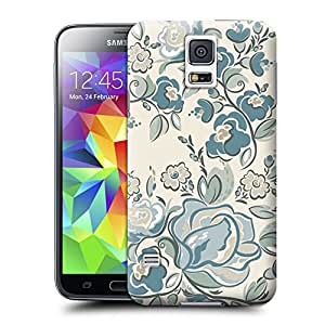 Anti-Scratch Tpu Samsung Galaxy S5 Case Covers Field Flowers Style Easy To Snap On And Off By hecase