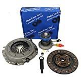 Autocom 31S-12077 New Clutch Kit with Slave Cylinder