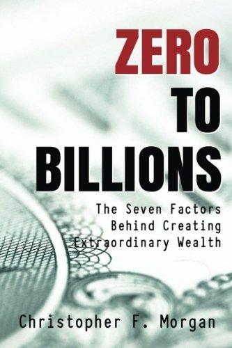 Zero Billions Factors Creating Extraordinary product image