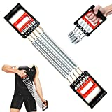 FITNESS MANIAC 5 Spring Chest Expander Exercise Fitness Strength Training Adjustable Resistance