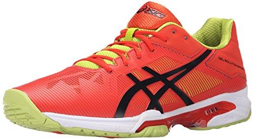 Zapato de tenis Speed-Gel Speed 3 masculino, Naranja / Negro / Lima, 11 M US