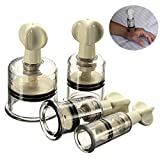 Healthy Care Twist Suction Cupping Nipple Enhancer Enlarger Vacuum Rotary Fetish Size M