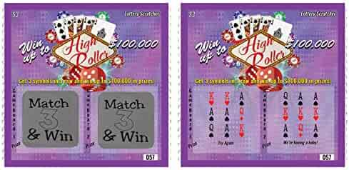 Pregnancy Announcement Scratch Off Lottery Ticket, New Baby Reveal Game, 5 Cards