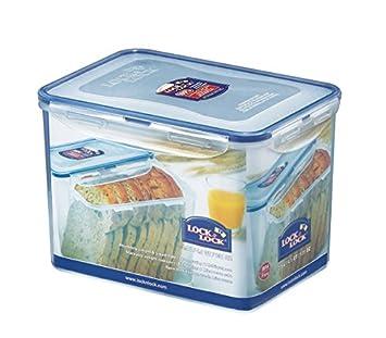LOCK U0026 LOCK Airtight Rectangular Tall Food Storage Container 131.87 Oz /  16.48 Cup