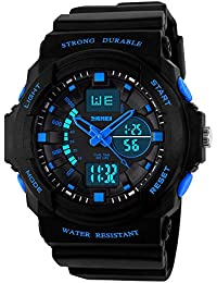 Kids Watches, Digital Analog Sports Waterproof Outdoor...