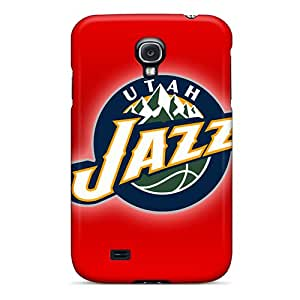 Shockproof Hard Phone Covers For Samsung Galaxy S4 (hRZ1643UmjF) Allow Personal Design Beautiful Utah Jazz Pictures