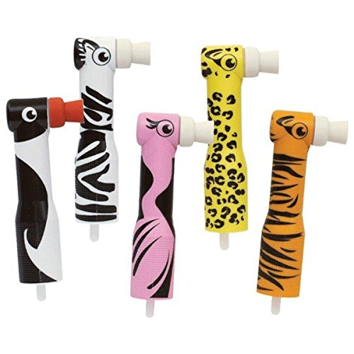 Young 575010 Zooby Disposable Prophy Angle, Five Assorted Animal Design (Pack of 100)