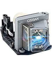 COOBAN 1510X /1610HD Replacement Projector Lamp Bulb with Housing for DELL 1510X 1610X 1610HD 330-6581 725-10229 KFV6M Projector Lamp